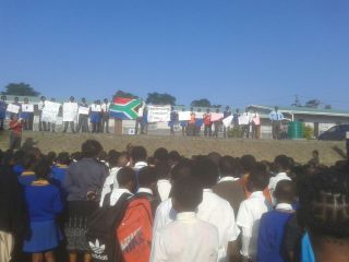 Our special Freedom Day assembly also focussed on Water