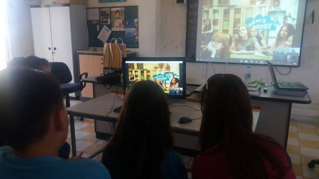 Second Skype Call with School No. 1 in Sochaczew, Poland